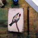Tengelic - festményeim képeslapon, borítékkal, Képzőművészet, Naptár, képeslap, album, Festmény, Képeslap, levélpapír, Akvarell madártanulmányaim most már képeslap formájában is elérhetőek.  Az üdvözlőlapok mérete 148x1..., Meska