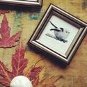 Őszapó - akvarell festményről készült, keretezett művészi mininyomat