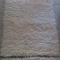 Nyersfehér szőnyeg csíkokkal, Otthon, lakberendezés, Lakástextil, Szőnyeg, Újrahasznosított alapanyagból készült termékek, Szövés,              Nyersfehér szőnyeg barna és májva csíkkal.Puha tapintású, könnyen kezelhető, mosógépbe..., Meska