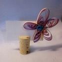 Ültetőkártya (virág), Dekoráció, Esküvő, Ünnepi dekoráció, Esküvői dekoráció, Virág alakú, quilling technikával kialakított ültetőkártya rendezvényekre, esküvőkre. Nagy..., Meska
