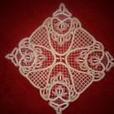 Harangok, Dekoráció, Csipkekészítés, A csipke a Palócföldi Népi Iparművészek Egyesülete által meghirdetett pályázatra készült, Kozárdon ..., Meska