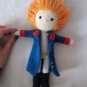 Horgolt kis herceg, Játék & Gyerek, Plüssállat & Játékfigura, Horgolás,  Horgolással és szeretettel készített kis herceg:  - ~23cm magas - Biztonsági szemekkel készült - T..., Meska