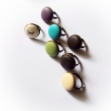 Bőr gyűrű, Ékszer, Gyűrű, Színes textilbőr gyűrűk, Színek:  oliva padlizsán bézs kávébarna fekete türkiz Az  ár 1 d..., Meska