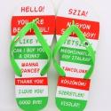 Hello Idegen flip flop papucs 41/42-es méret, Ruha, divat, cipő, Magyar motívumokkal, Cipő, papucs, Mindenmás, Ismerkednél, de nem tudod, hogy mondják, magyarul, vagy angolul? Itt a megoldás:-) A flip flop anya..., Meska