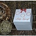 Csillámló gömbök- Idézetes karácsonyi ajándék doboz/Pénzátadó, Dekoráció, Karácsonyi, adventi apróságok, Ajándékkísérő, képeslap, Karácsonyi dekoráció, Most a kedvencemet szeretném Nektek bemutatni. Idézetes karácsonyi ajándékdobozt készítettem, melyne..., Meska