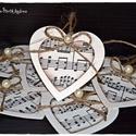 Hangjegyes ajándékkísérők , Naptár, képeslap, album, Dekoráció, Otthon, lakberendezés, Ajándékkísérő, Papírművészet, Ajándékkísérőket készítettem a zene szerelmeseinek vagy bárkinek, akinek tetszik. ;-) Feldobhatod  ..., Meska