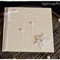 """""""Fények a hóesésben"""" karácsonyi képeslap, Naptár, képeslap, album, Dekoráció, Képeslap, levélpapír, Ünnepi dekoráció, """"Fények a hóesésben"""" karácsonyi képeslap, Meska"""