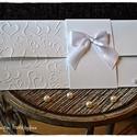 Szívecskés Pénzátadó lap/Esküvői meghívó/Keresztelő/Születésnap/Névnap, Esküvő, Naptár, képeslap, album, Meghívó, ültetőkártya, köszönőajándék, Nászajándék, Szívecskés Pénzátadó lap/Esküvői meghívó/Keresztelő/Születésnap/Névnap, Meska