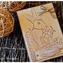 Húsvéti képeslap #1, Húsvéti díszek, Naptár, képeslap, album, Képeslap, levélpapír, Húsvéti képeslap #1, Meska