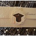 Pénzátadó boríték diplomaosztóra, Naptár, képeslap, album, Otthon, lakberendezés, Képeslap, levélpapír, Ajándékkísérő, Pénzátadó boríték diplomaosztóra, Meska