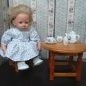 """Aprómintás játékbaba ruha, Baba-mama-gyerek, Játék, Baba-mama kellék, Baba, babaház, Varrás,  A ruhácska 40 cm-es és 50 cm-es merev és """"puhatestű"""" babákra egyaránt jó. A modell az első képen 5..., Meska"""