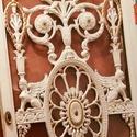 Vintage ruhásszekrény., Bútor, Otthon, lakberendezés, Szekrény, 3-szoros ruhásszekrény, méret 218 х 240 cm, Meska