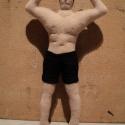 Testépítő figura motorola4-nek rendelésre, 26cm magastestépítő figura rendelésre