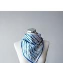 Kézzel festett selyemkendő, Ruha, divat, cipő, Kendő, sál, sapka, kesztyű, Sál, 100 % selyem méret: 55 × 55 cm, Meska