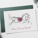 Karácsonyi képeslap, Otthon & lakás, Naptár, képeslap, album, Képeslap, levélpapír, Fotó, grafika, rajz, illusztráció, A6 méretű képeslap, fényes, 250 grammos papíron., Meska