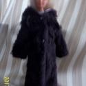 Barbie babára ruha , Játék, Baba játék, Téli meleg bolyhos kabát. tépőzárral záródik  barbie méretű babára jó Előreutalás után..., Meska