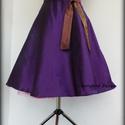 Taft szoknya alsószoknyával.., Ruha, divat, cipő, Női ruha, Szoknya, Cherryland Design  Rockabilly stílusú körszoknya ,Taft anyagból készült, tüll alsószoknyával ( színe..., Meska