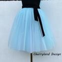 """Cherryland Design """"Baba""""Kék Tüll Szoknya˛/Blue Tulle Skirt, Ruha, divat, cipő, Gyerekruha, Női ruha, Szoknya, Cherryland Design """"Baba""""Kék Tüll Szoknya˛/Blue Tulle Skirt  Egyedi méretek alapján , megrendelésre k..., Meska"""