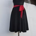 Cherryland Design Fekete Taft szoknya., Ruha, divat, cipő, Női ruha, Szoknya, Cherryland Design Fekete Taft szoknya.  Rockabilly stílusú körszoknya , taftból készült. Egyé..., Meska