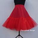 Cherryland Design Piros alsószoknya pörgős szoknyához, Rockabilly stílusú  ruhához), Ruha, divat, cipő, Esküvő, Női ruha, Menyasszonyi ruha, Cherryland Design alsószoknya pörgős szoknyához Klasszikus Rockabilly stílusú  ruha alá elengedhetet..., Meska