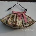 """Cherryland Design """"Vintage"""" Virágmintás Rockabilly KISLÁNY Szoknya /Alsószoknyával., Cherryland Design """"Vintage"""" Virágmintás Rockabil..."""