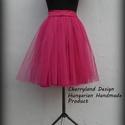 Cherryland Design Pink   Tüll Szoknya˛/ Pink Tulle Skirt, Cherryland Design Pink  Tüll Szoknya Egyedi mére...