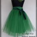 Cherryland Design  Zöld Tüll Szoknya/Green Tulle Skirt., Cherryland Design Zöld Tüll Szoknya Egyedi mére...