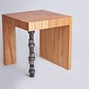Lada, Férfiaknak, Bútor, Legénylakás, Szék, fotel, Használható asztalként, vagy akár ülő alkalmatosságként is. Különlegessége a vastag, bütü felső lapj..., Meska