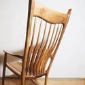 Maloof, Bútor, Képzőművészet, Szék, fotel, Szobor, Sam Maloof a 20. század egyik legfontosabb amerikai bútorkészítője. Az ő ikonikus darabja egy kézzel..., Meska