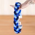 - Kaméleon - microcord karkötő, Ékszer, Karkötő, Ez a karkötő három különböző színű microcord szálból áll, szélessége 10 mm. 12 mm-es záró elemmel és..., Meska