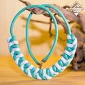 - Leguán - paracord nyaklánc, Ékszer, óra, Nyaklánc, Ez a nyaklánc lehet egy, kettő illetve három színű is.  A fonás rész kb. 15 cm. A szár rész..., Meska