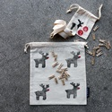 Adventi kalendárium, Rudolf, A csomag tartalma 24 kis zsák (9*10 cm), 3 méter...