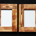 Képkeret, rusztikus keret 10x15cm képekhez, Otthon, lakberendezés, Képkeret, tükör, Rusztikus képkeret. 10x15 cm meretu fenykepekhez. Ebben a méretben (17,5 x 22,5 cm) minimális rendel..., Meska