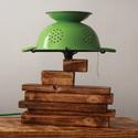 Éjjeli lámpa, Asztali lámpa, lámpa, Hangulatlámpa, Bauhaus, Hangulatos fényt nyújtó Bauhaus stílusú aszta...