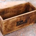 Fűszertároló doboz, fadoboz, doboz, virágtartó, tároló, Kis fadoboz, ami kiválóan alkalmas, fűszerek, o...