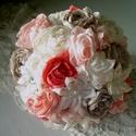 Örökcsokor -nagy méretű, Esküvő, Esküvői csokor, Esküvői dekoráció, , Meska