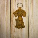 Vizsla kulcstartó vagy táskadísz , Gyapjúfilcből készült ez a jópofa vizsla kulc...