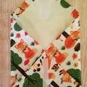 Textil szalvéta, pul, letörölhető belsővel ,  Gyönyörűséges, róka mintás szalvétát varr...