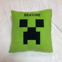 Minecraft párna névvel, Puha polár anyagból készült párna . Méret 35...