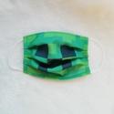 Minecraft maszk, Minecraft mintás maszk,kevert szálas anyagból 5...