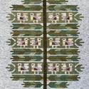 Gyapjúszőnyeg  Falikép  SZ61- Életfa, Hagyományos technikával, szövőszéken szövöt...