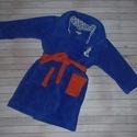 Wellsoft pihe puha gyerek köntös, Olaf mintával (2-5 éves korig), Baba-mama-gyerek, Kék színű wellsoft köntös, együtt nő a gyerkőccel. 2-től 5 éves korig használható.   , Meska