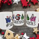 Karácsonyi Amongus bögre, figurás bögre, Bögrére mindig szükség van.  Élvezd a kedvenc...