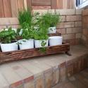 Virágtartó, Fűszer növény tartó, Fa állvány: Virágokhoz, fűszernövényekhez. A...