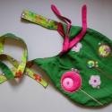 Zöld-pink batyu (toritextil) - Meska.hu