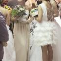 Tollas báj, Ruha, divat, cipő, Esküvő, Esküvői ruha, Menyasszonyi ruha, Ez a fehér rövid ruha igazán különleges megjelenést biztosít a menyasszonyoknak.Hátul merészen kivág..., Meska