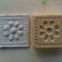 Keksz mintázó nyomófa , Konyhafelszerelés, Magyar motívumokkal, Kézzel faragott keksz formázására használható. 6x6 minta. Bármilyen tészta jó ,ami nem változtatja m..., Meska