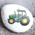 Traktor, Otthon, lakberendezés, Kisfiúknak, nagyfiúknak és gazdáknak. Akrillal, kézzel festve,lakkozva.  Kérésre saját trakt..., Meska