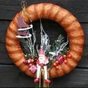 Mikulásos karácsonyi FÉMAJTÓRA is tehető ajtódísz, Sok ismerősöm panaszkodott,hogy sajnos ő nem tu...