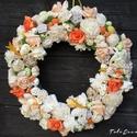 Húsvéti ,tavaszi ajtódísz, kopogtató ,ajándék ,koszorú, Közeleg a tavasz, ideje készülődni a húsvétr...